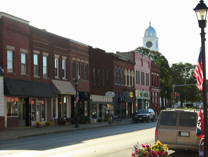 Downtown Lexington, Missouri
