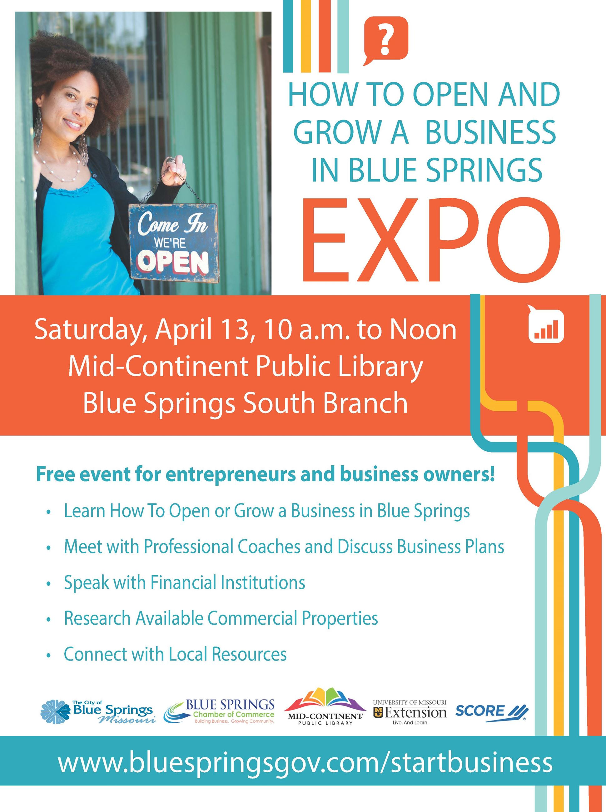 April 13 How to Start A Business Expo