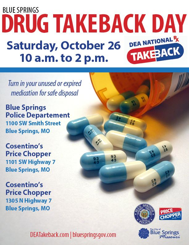 Blue Springs Drug Take Back Day