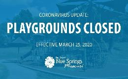 Playgrounds closed graphic