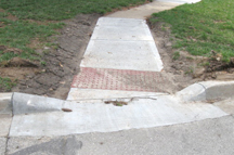 Step 2: Curb Repair and ADA Ramps
