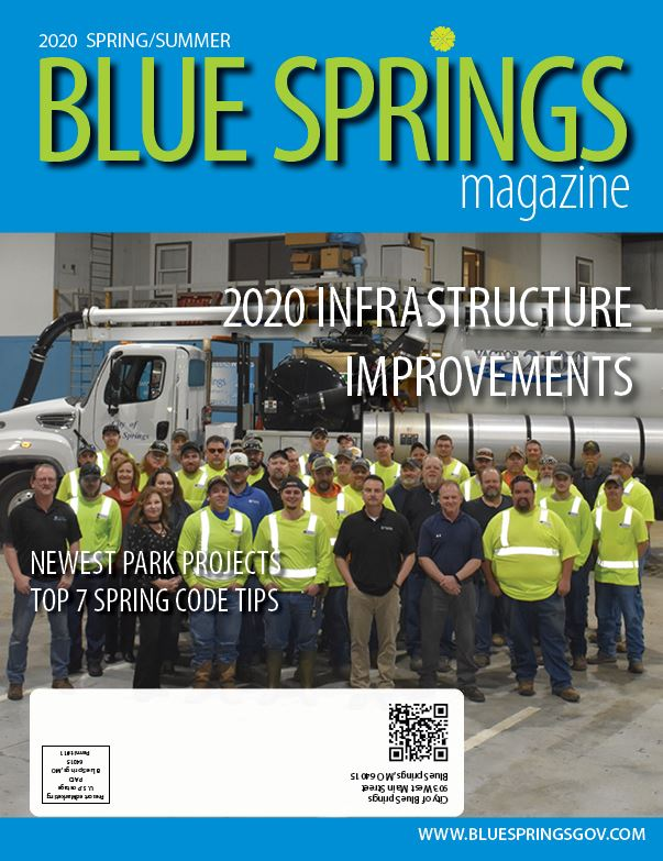 Blue Springs Magazine Cover Spring/Summer 2020